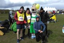 Air Field Run with Mascot