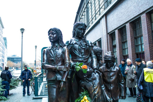 Statues at Friedrichstraße
